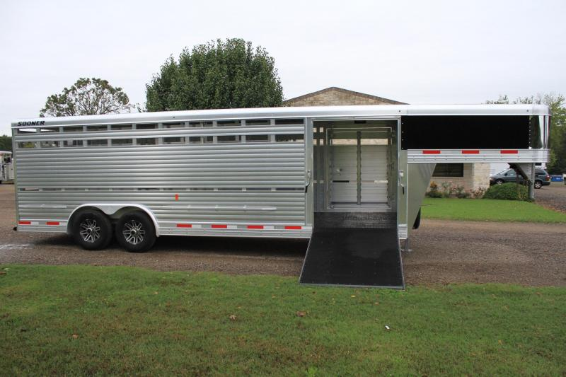 2019 Sooner  24' Show Stock - 8' Wide with Side Ramp