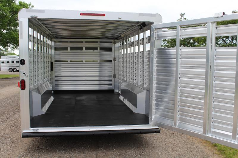 2019 Exiss  25ft Show Cattle Combo with 5 Tack Room