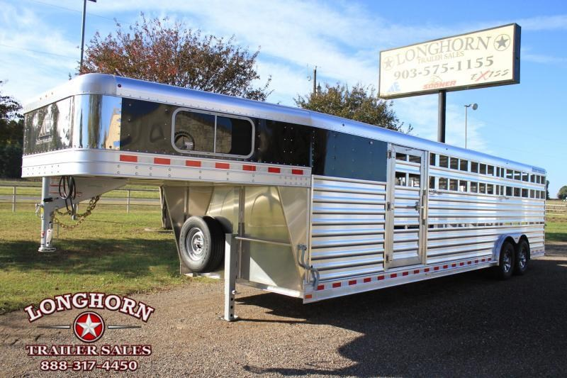 2019 Elite 8' x 28' Show Cattle Combo with Side Ramp  in Ashburn, VA