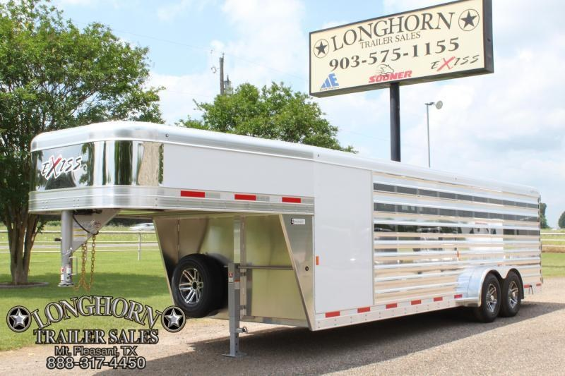 2019 Exiss 24ft Exhibitor with 4ft Tack and 10 Pens