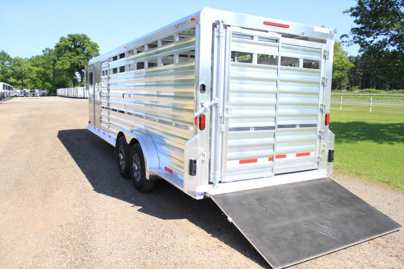 2019 Exiss 24ft Combo with 2 Ramps and Pen System