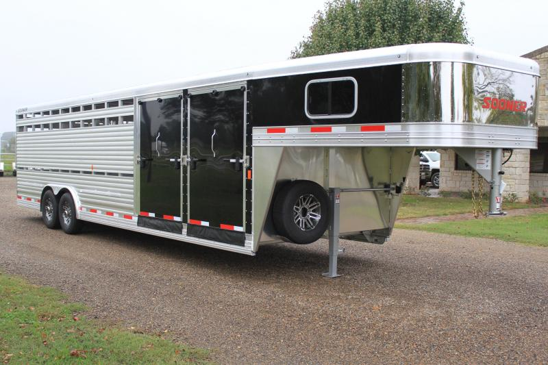 2019 Sooner 28ft Combo with Two Side Ramps