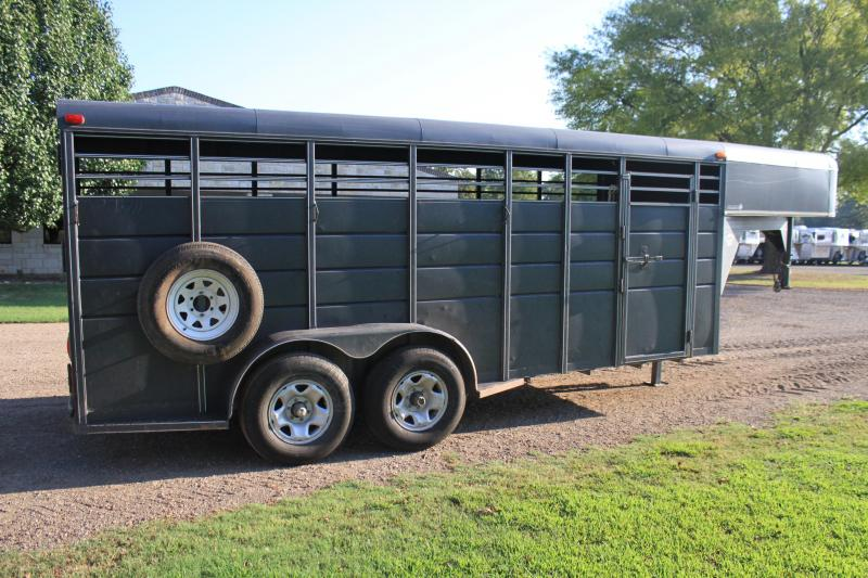 2013 Calico Trailers 18' Ft Stock Livestock Trailer