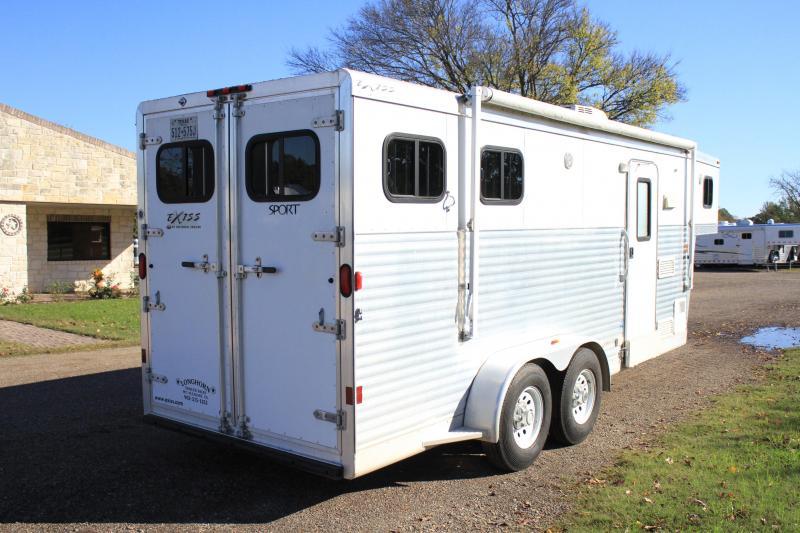 2008 Exiss 2 horse 7 Living Quarter