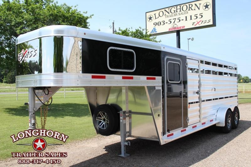 2019 Exiss 20ft Show Cattle Combo with Side  Ramp