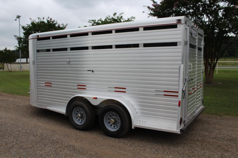 2010 WW 16ft All Aluminum Livestock Trailer