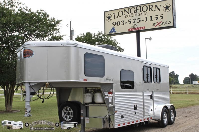 2019 Sundowner 2 Horse with 6ft LQ with Electric Awning