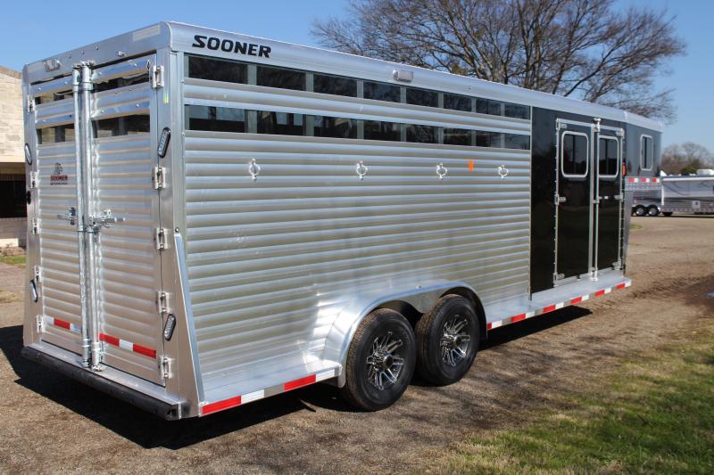 2019 Sooner 4 Horse Smart Tack Stock Combo