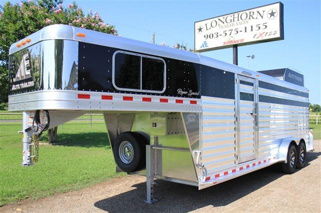 2019 Elite Trailers Roper Special by Longhorn Trailers Livestock Trailer