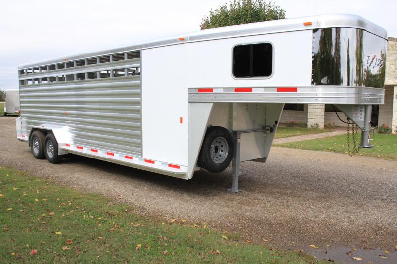 2019 Exiss 24ft with 4ft Tack Room and Saddle Rack