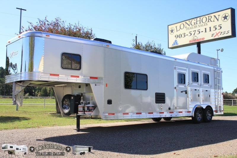 2019 Exiss 3 Horse 12ft LQ  with Mangers