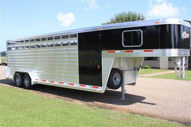2018 Exiss 24' Stock Combo with a 4' Tack Room