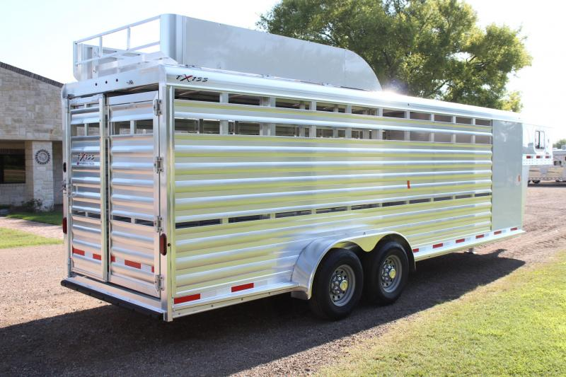2020 Exiss 24ft Stock Combo with Hayrack