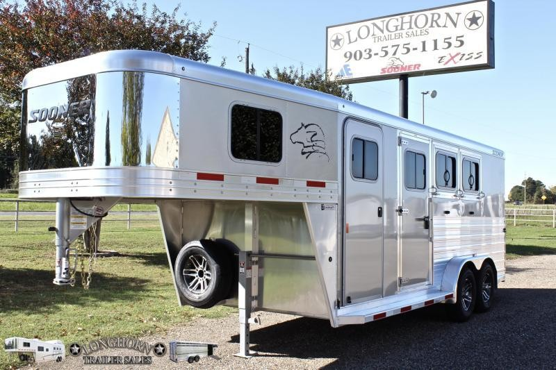 2019 Sooner 3 Horse with 4ft Tack Room
