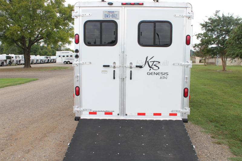 2004 Kiefer Built 3 Horse with 8ft Shortwall