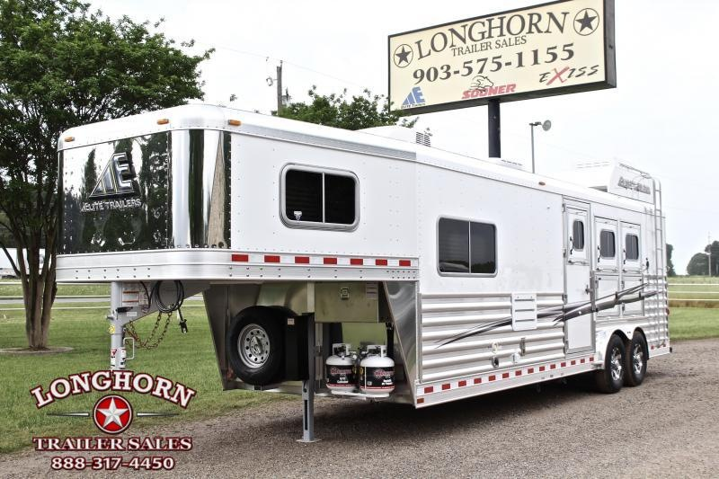 2020 Elite 3 Horse with 10.8' Shortwall by TrailBoss