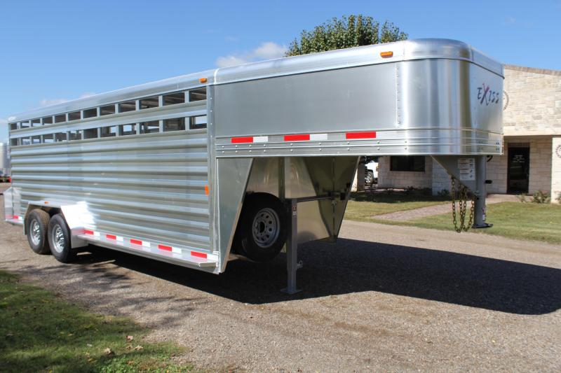2019 Exiss  20ft x 7ft Heavy Duty Stock Trailer