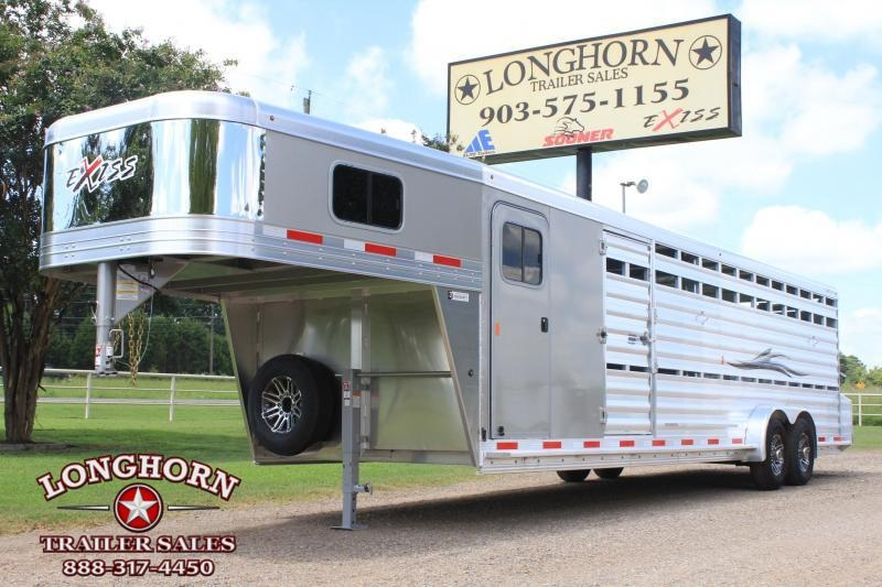2019 Exiss 28' Show Cattle Combo with Double Side Ramps in Ashburn, VA