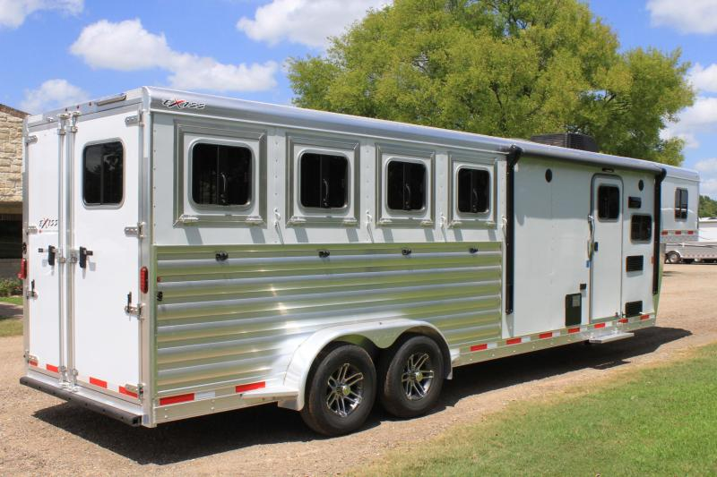 2019  Exiss 4 Horse with 8.6ft Shortwall