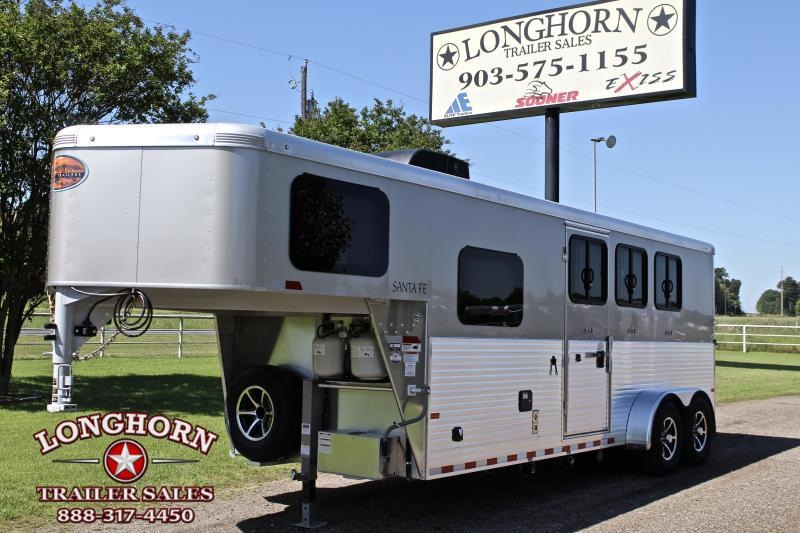 2019 Sundowner Santa Fe 3 Horse 6ft Shortwall