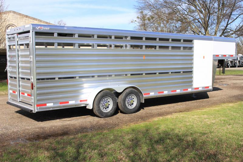 2019 Exiss 24ft Stock Combo with 4ft Tack Room