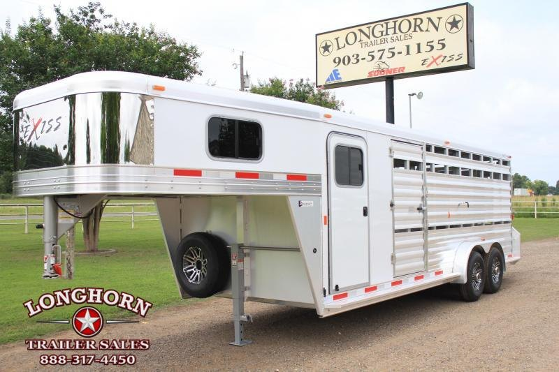 2019 Exiss  21' Show Cattle Combo with Side Ramp