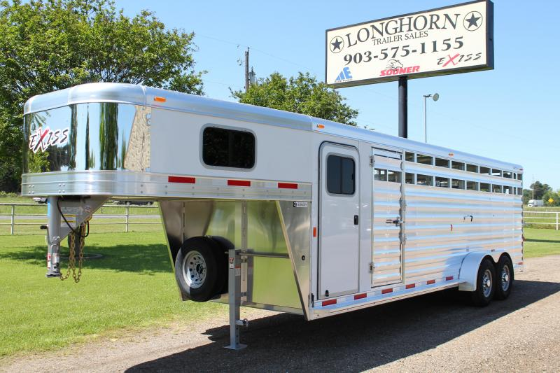 2019 Exiss 24ft Stock Combo with a 4ft Tack Room