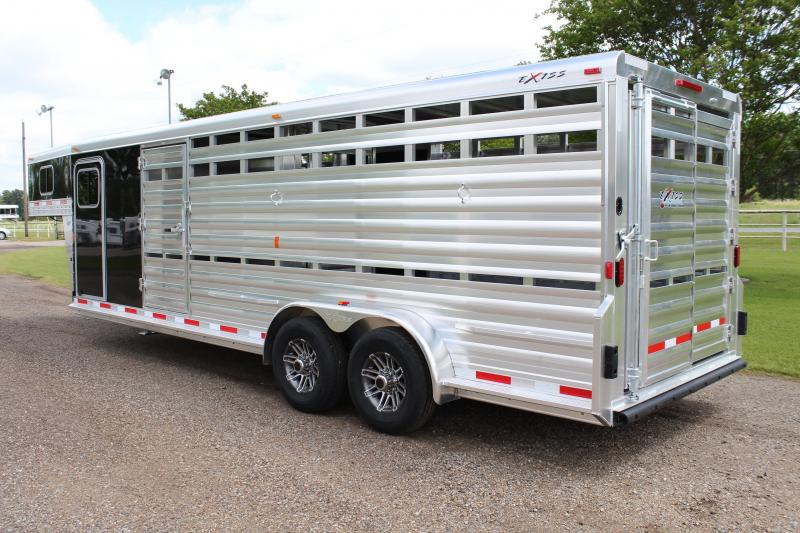 2019 Exiss 24ft Show Cattle with Side Ramp -- New Style--