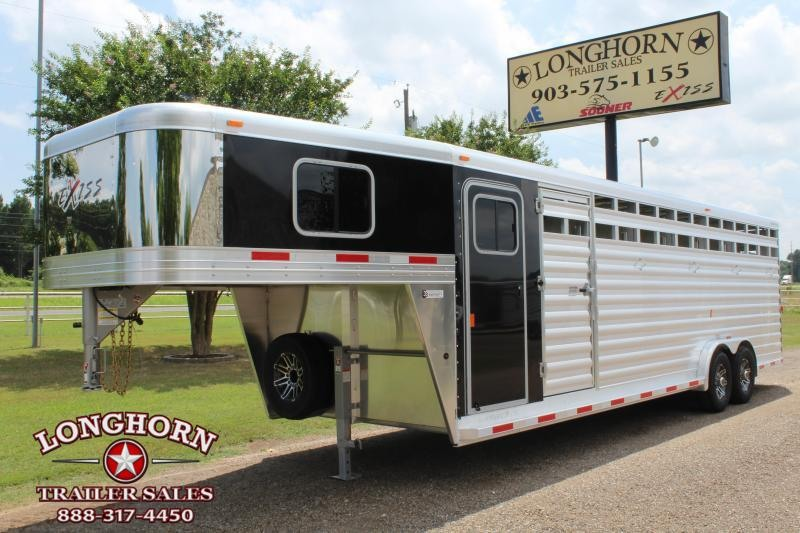 2019 Exiss  6 Horse Combo with Front Tack Room Horse Trailer in Ashburn, VA