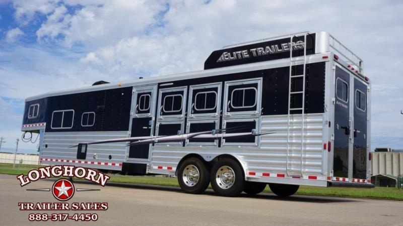 2017 Elite 4 Horse 13.8ft Shortwall with Sofa/Half Dinette in Ashburn, VA