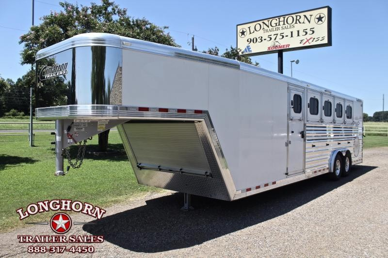2017 Cimarron 5 Horse with Air Ride and Front Tack Room
