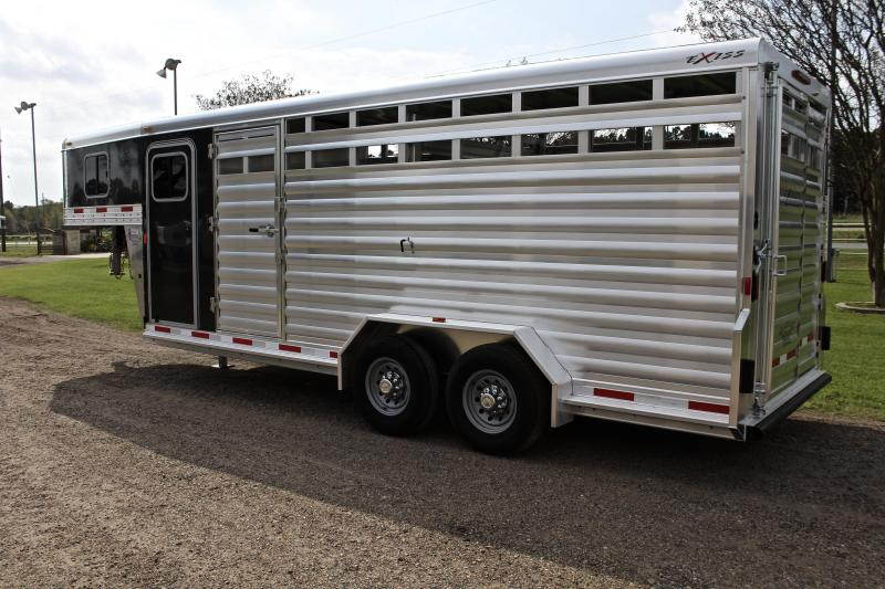 2018 Exiss 20ft Stock Combo with 4ft Tack- 7.2ft Tall