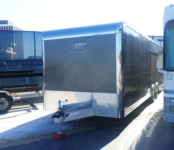 2017 ATC Quest Enclosed Cargo Trailer