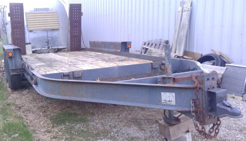 2003 Belshe WB-12 16' Equipment Trailer