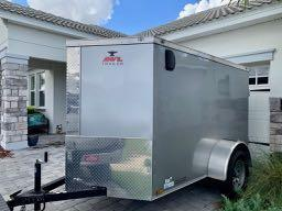 2017 Anvil AT5X8SA Enclosed Cargo Trailer