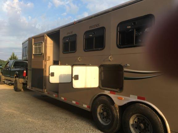 2014 Titan Classic 4 Horse Trailer w/ LQ