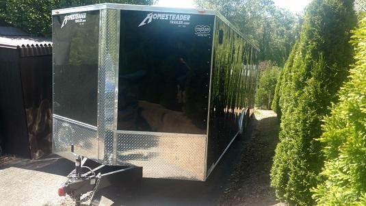 2017 Homesteader 8.5 x 24 Enclosed Cargo Trailer