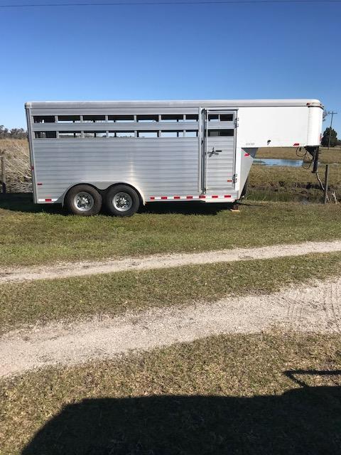 2012 Sundowner Sunlite 16' Livestock / Combo Trailer