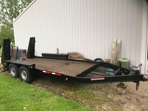 Belshe 16 ft. Flat Deck Trailer 12K GVWR in Ashburn, VA