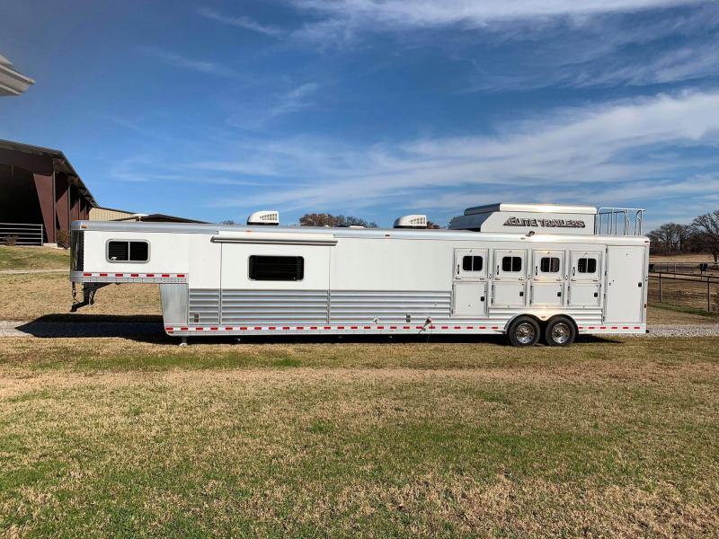 2016 Elite 2 Bedroom 4 Horse LQ Trailer