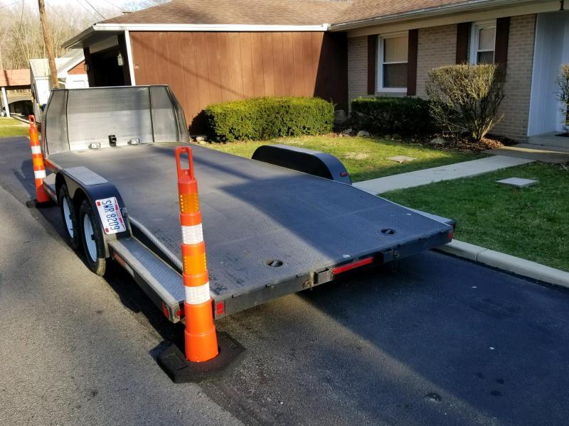 2017 Sarka Custom 7 x 18 Tandem Axle Car Hauler in Ashburn, VA