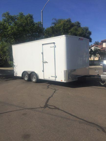 2018 Pace American Outback Enclosed Cargo Trailer