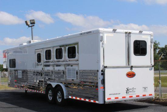 2017 Sundowner Trailers Signature Quarters Horse Trailer