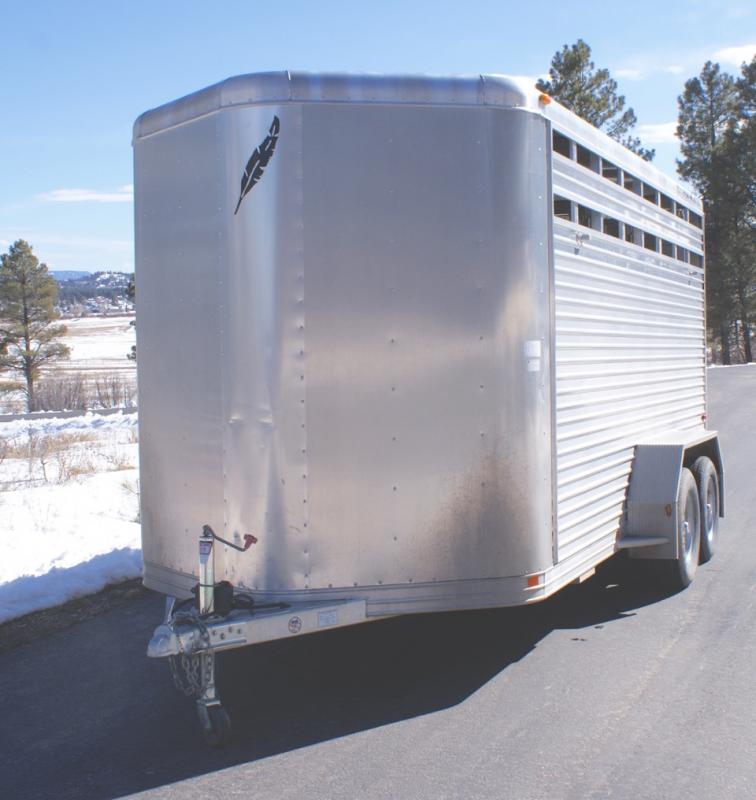 2007 Featherlite Bumper Pull Horse Trailer
