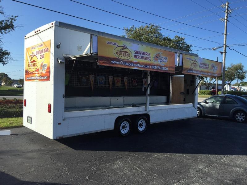 1993 Wells Cargo Custom Vending / Concession Trailer