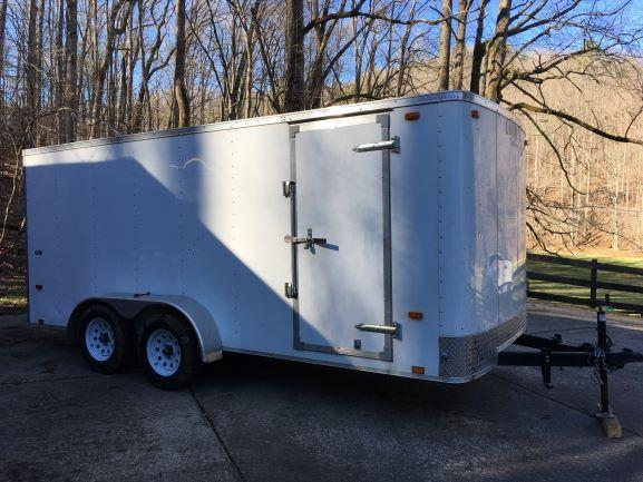 2016 Look Trailers ST 7 X 16 Enclosed Cargo Trailer