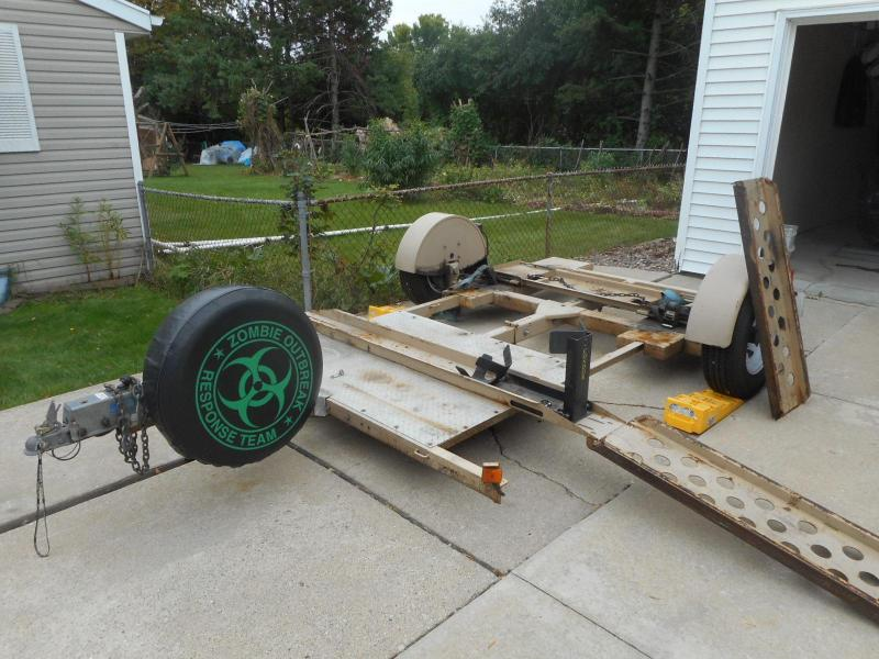 2009 Tandem-Tow HD Car / Motorcycle Trailer