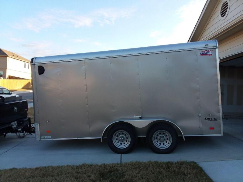 2017 American Hauler 7 x 14 Enclosed Cargo Trailer