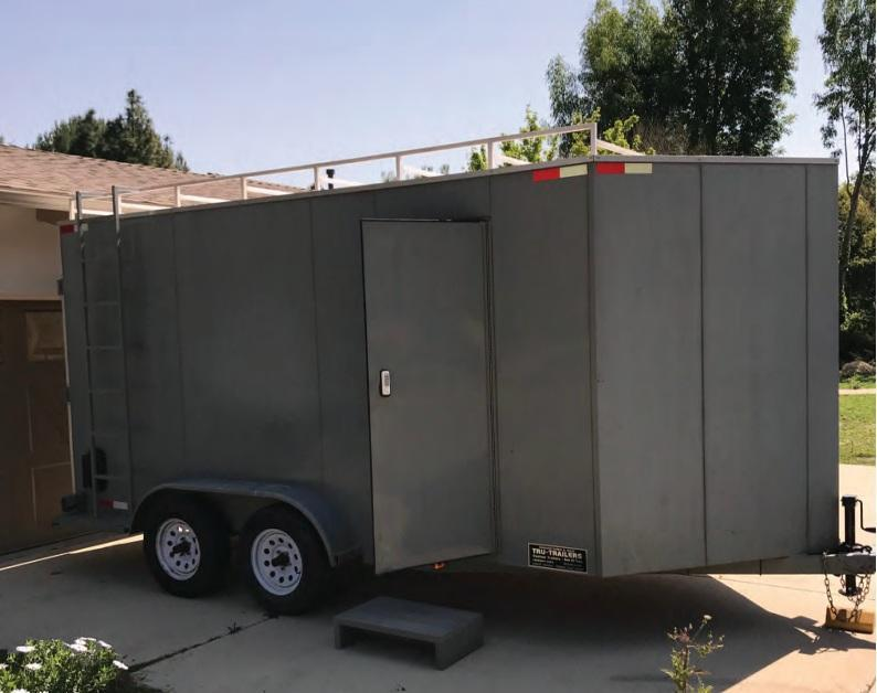 2015 Tru-Trailer 7 X 16 Enclosed Cargo Trailer in Ashburn, VA