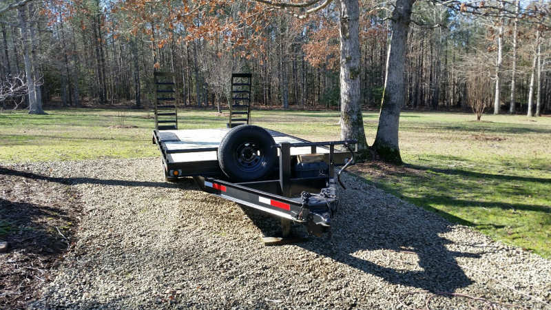 2005 Hudson Brothers Drop Tail Flatbed Trailer